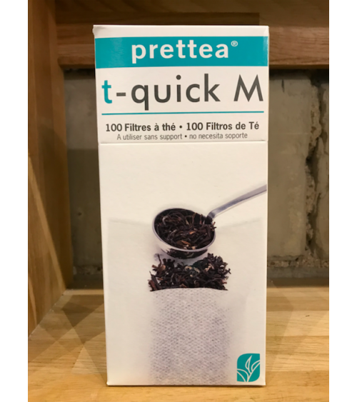 T Quick M - 100 Paper Filters
